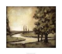 "Waterside Revelry II by Jennifer Goldberger - 30"" x 26"", FulcrumGallery.com brand"