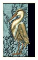 "Heron in the Grass II by Jennifer Goldberger - 18"" x 28"""