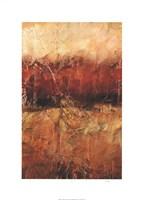 Autumn Horizon I Fine Art Print