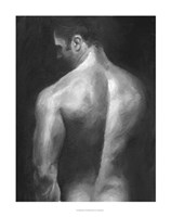 Male Nude I Framed Print