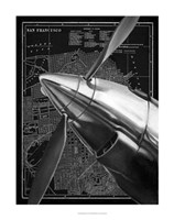 "Vintage Plane II by Ethan Harper - 22"" x 28"""