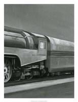 Vintage Locomotive III Fine Art Print