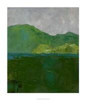 "Blue Ridge II by Chariklia Zarris - 24"" x 28"", FulcrumGallery.com brand"