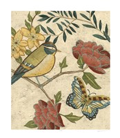 "Antique Aviary I by Chariklia Zarris - 24"" x 28"" - $59.49"