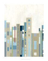"Broadway Horizon I by Vanna Lam - 28"" x 28"""