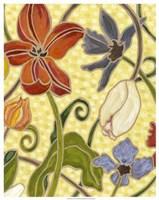 "Sunny Garden I by Karen Deans - 23"" x 29"""