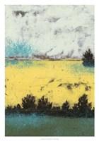 "Hedges I by Jennifer Goldberger - 21"" x 30"""