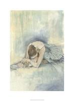 "Ballerina Repose II by Jennifer Goldberger - 22"" x 30"""