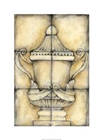 Ceramic Urn II Framed Print