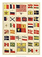 """Flags of All Nations II - 22"""" x 30"""""""