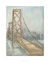 "Metropolitan Bridge I by Ethan Harper - 24"" x 30"", FulcrumGallery.com brand"