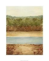 Golden Meadow I Fine Art Print