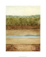 Golden Meadow II Fine Art Print