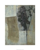 "Weathered Floral II by Jennifer Goldberger - 24"" x 30"", FulcrumGallery.com brand"