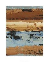 """Linear Composition II by Ethan Harper - 24"""" x 30"""", FulcrumGallery.com brand"""