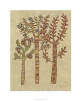 "Linen Trees I by Chariklia Zarris - 24"" x 30"", FulcrumGallery.com brand"