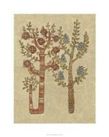 "Linen Trees II by Chariklia Zarris - 24"" x 30"", FulcrumGallery.com brand"