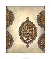 "Exotic Ornament II by Chariklia Zarris - 26"" x 30"", FulcrumGallery.com brand"