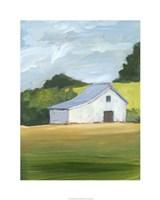 Rural Landscape I Framed Print