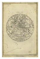 "Antique Astronomy Chart I by Denis Diderot - 20"" x 30"""