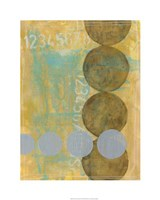 "Circles in Circles I by Jennifer Goldberger - 24"" x 30"", FulcrumGallery.com brand"