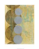 "Circles in Circles II by Jennifer Goldberger - 24"" x 30"", FulcrumGallery.com brand"