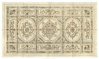 "Ornamental Ceiling Design - 50"" x 30"" - $102.99"