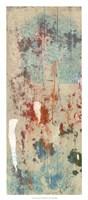 """Layers Of Paint I by Jennifer Goldberger - 14"""" x 32"""""""