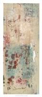 """Layers Of Paint II by Jennifer Goldberger - 14"""" x 32"""""""