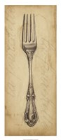 Antique Fork Fine Art Print