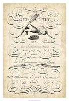 """The Art of Penmanship by Vision Studio - 22"""" x 32"""""""