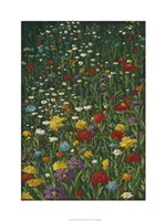 """Bright Wildflower Field I by Megan Meagher - 24"""" x 32"""""""