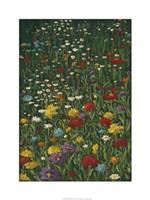 "Bright Wildflower Field I by Megan Meagher - 24"" x 32"", FulcrumGallery.com brand"
