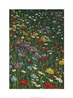 """Bright Wildflower Field II by Megan Meagher - 24"""" x 32"""""""