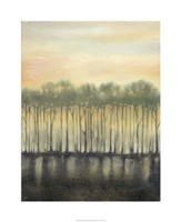 "Dusk in Spring by Jennifer Goldberger - 26"" x 32"", FulcrumGallery.com brand"