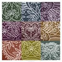 "Lace Sampler by Renee Stramel - 32"" x 32"", FulcrumGallery.com brand"
