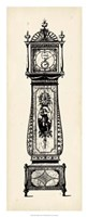 "Antique Grandfather Clock II by Vision Studio - 14"" x 34"""