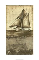 """Shimmering Seas II by Ethan Harper - 22"""" x 34"""""""