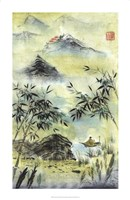 "Having Visited Qui Baishi by Nan Rae - 22"" x 34"" - $43.99"