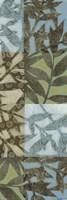 Swaying Fronds Panel I Framed Print