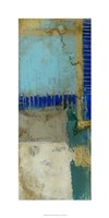 """Waterfall II by Jennifer Goldberger - 18"""" x 36"""""""