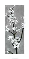 "White Blossoms I by Jennifer Goldberger - 18"" x 36"" - $43.99"