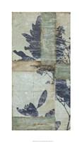 "Indigo Branches II by Jennifer Goldberger - 21"" x 36"", FulcrumGallery.com brand"