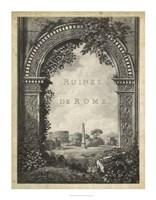"Ruines de Rome - 28"" x 36"""