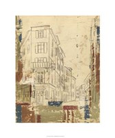 """Streets of Downtown I by Ethan Harper - 30"""" x 36"""", FulcrumGallery.com brand"""