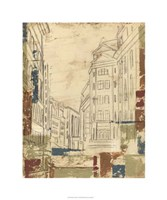 """Streets of Downtown II by Ethan Harper - 30"""" x 36"""", FulcrumGallery.com brand"""