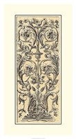 "Renaissance Panel I by Owen Jones - 20"" x 36"""
