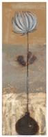 "Solitary Flower I by Norman Wyatt Jr. - 13"" x 37"""