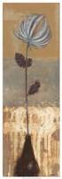 """Solitary Flower II by Norman Wyatt Jr. - 13"""" x 37"""""""