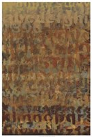 "Earthen Language II by Norman Wyatt Jr. - 13"" x 37"", FulcrumGallery.com brand"